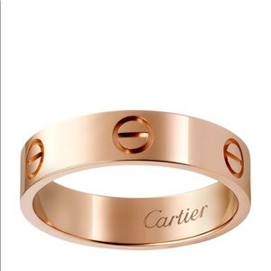 ISO Cartier Love Ring - size 7-8